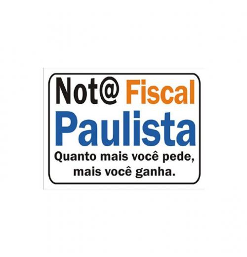 Nota Fiscal Paulista PS-649